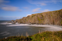 Hartland Quay Royalty Free Stock Images
