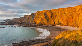 Hartland Quay, Devon Royalty Free Stock Images