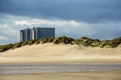 Hartlepool nuclear power station Royalty Free Stock Photos
