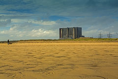 Hartlepool Nuclear Power station Royalty Free Stock Photo