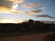 hartman照明设备岩石 图库摄影