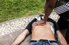 Hartmassage stock foto