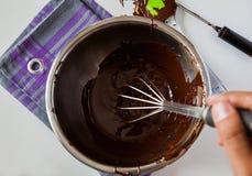 Hartowanie czekolada Obraz Stock