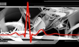 Hartslag vector illustratie