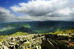 Hartsop Fells Royalty Free Stock Photography