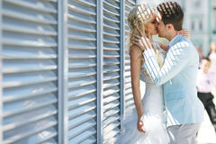 Hartstocht en liefde Stock Fotografie