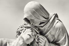 Hartstocht van Christus Stock Foto
