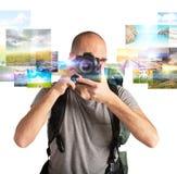 Hartstocht voor fotografie Royalty-vrije Stock Afbeelding