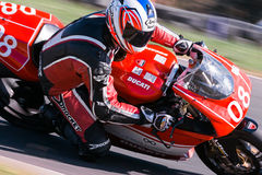 Hartwell Motorcycle Club Championship - Round 5 Royalty Free Stock Photo