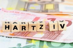 Hartz IV Stock Photo