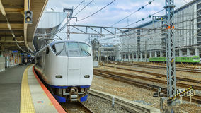 Haruka airport express train Royalty Free Stock Photo
