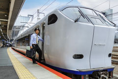 Haruka airport express train Stock Images