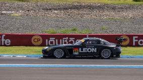 Haruki Kurosawa of LEON RACING in Super GT Final Race Warm Up La Stock Images