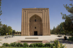 Harun prison. Picture of the Castle prison Abbasid Caliph Harun Al Rashid in the Iranian city of Mashhad, its Brown Castle Used for torturing prisoners Royalty Free Stock Photography