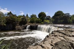 Haruru Falls - New Zealand Royalty Free Stock Photos