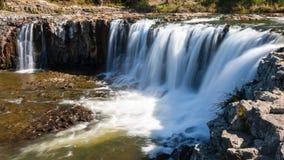 Haruru Falls, Paihia, Northland, New Zealand. Haruru Falls at Paihia, Northland, North Island of New Zealand Stock Photo