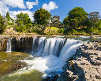 Haruru Falls, Paihia, Northland, New Zealand Stock Photography