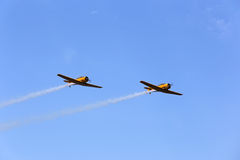 Harvard airshow Arkivfoton
