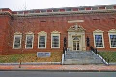 Harvard Art Museum d'Université d'Harvard à Cambridge Photographie stock libre de droits