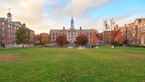 Harvard attracca Corridoio Fotografie Stock