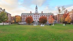 Harvard attracca Corridoio Immagine Stock Libera da Diritti