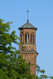Harvard bell tower Royalty Free Stock Image