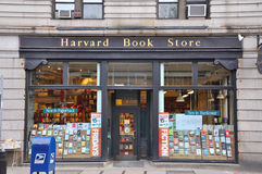 Harvard Book Store, Boston, USA royalty free stock photo