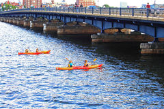 Harvard Bridge Royalty Free Stock Photos