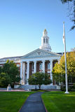 Harvard Business School. Baker Library at Harvard University.  Harvard University, located in Cambridge, Massachusetts, is one of the most prestigious Royalty Free Stock Photos