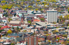 Harvard Campus Aerial Stock Photo