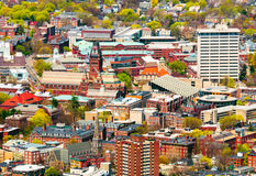 Harvard Campus Aerial Stock Image