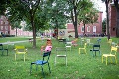Harvard campus Stock Images