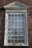Harvard campus window Stock Photography