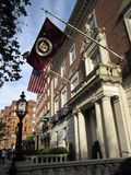 Harvard Club of Boston. Social club restricted to alumni and associates of the prestigious Ivy League school. Located on Commonwealth Avenue in Boston Stock Photos