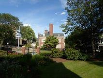 Harvard fakultetklubba, Harvarduniversitetet, Cambridge, Massachusetts, USA Royaltyfri Foto