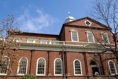 Harvard Hall Stock Photos