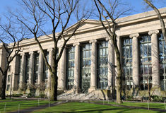 Harvard Law School. In early spring Royalty Free Stock Images