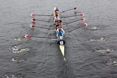 Harvard Men race head of the charles Royalty Free Stock Photography