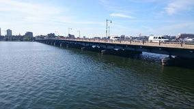 Harvard mosta Charles rzeki boston Obraz Royalty Free
