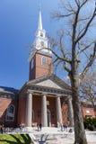 Harvard pomnika kościół zdjęcia royalty free
