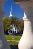 Harvard's Lowell House Stock Photo
