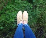 Harvard-Schuhe Lizenzfreies Stockfoto