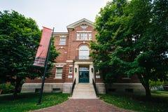 The Harvard Semitic Museum, in Cambridge, Massachusetts. Royalty Free Stock Image