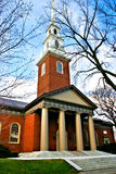 Harvard Square, USA. Harvard University campus in Cambridge, USA Royalty Free Stock Photo