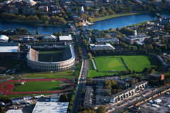 Harvard stadium  Stock Images