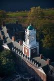 Harvard universitetsområde   royaltyfri bild