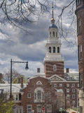 Harvard University buildings Royalty Free Stock Images
