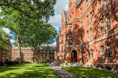 The Harvard University Stock Image
