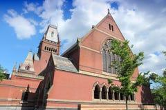 Harvard University. Cambridge, Massachusetts in the United States. Famous Harvard University - Memorial Hall Stock Image