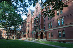 Harvard University. Campus, Boston USA stock photo